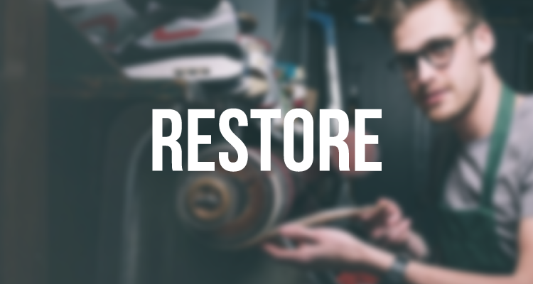 Page link to Sneakerrestore